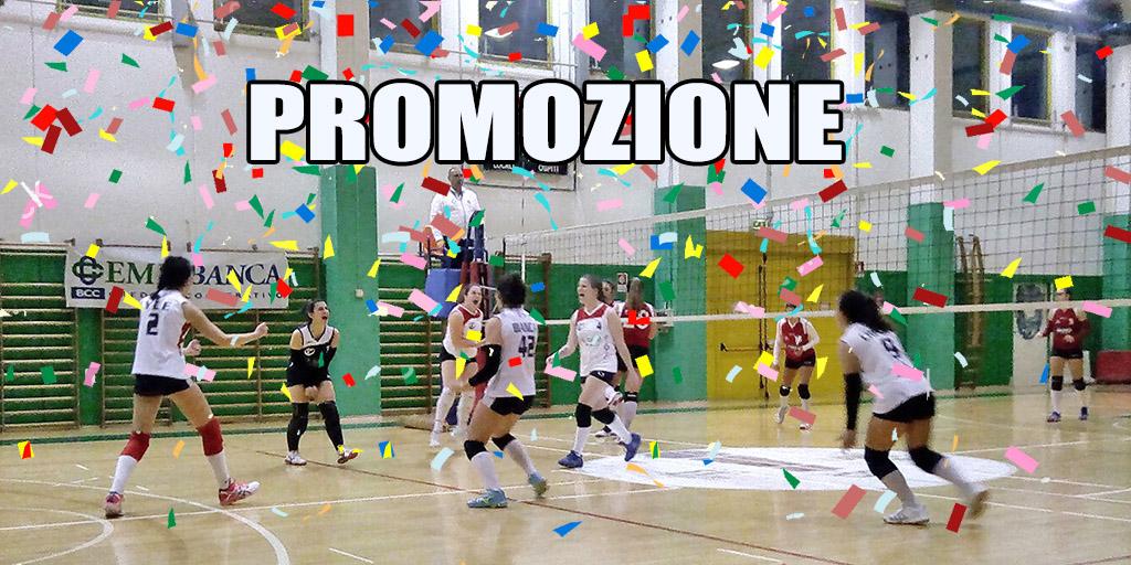 La Pallavolo Mordano promossa in 1ª Divisione provinciale